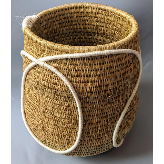 Swaziland Handwoven African Basket For Sale - Image 11 of 11