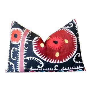 Anuka Suzani Lumbar Pillow For Sale