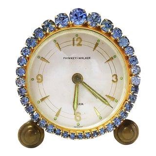 1930s Vintage Phinney-Walker Alarm Clock For Sale