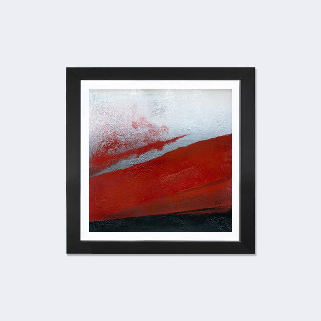 """Shades of Red"", Framed Print by Michael Goldzweig - Image 2 of 3"