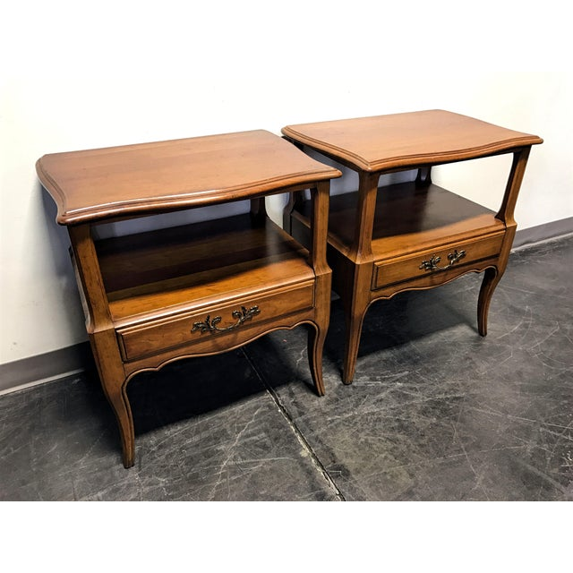 Davis Cabinet Co French Provincial Nightstands - A Pair - Image 2 of 11