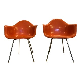 Ray and Charles Eames for Herman Miller H Base Arm Chair For Sale