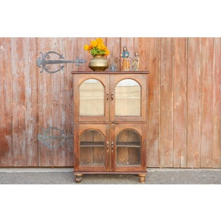 Antique Arch Door Teak Cabinet Preview