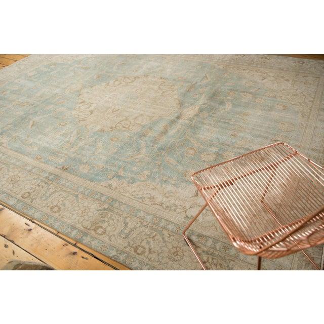 "Islamic Vintage Distressed Sivas Carpet - 8'7"" X 11'1"" For Sale - Image 3 of 12"