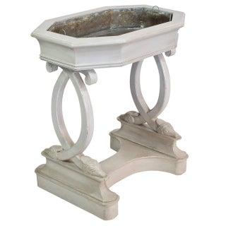 "French Antique ""Rafraîchissoir"" Cooler Table"