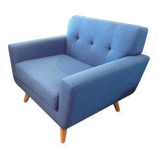 Modway Dark Blue Armchair