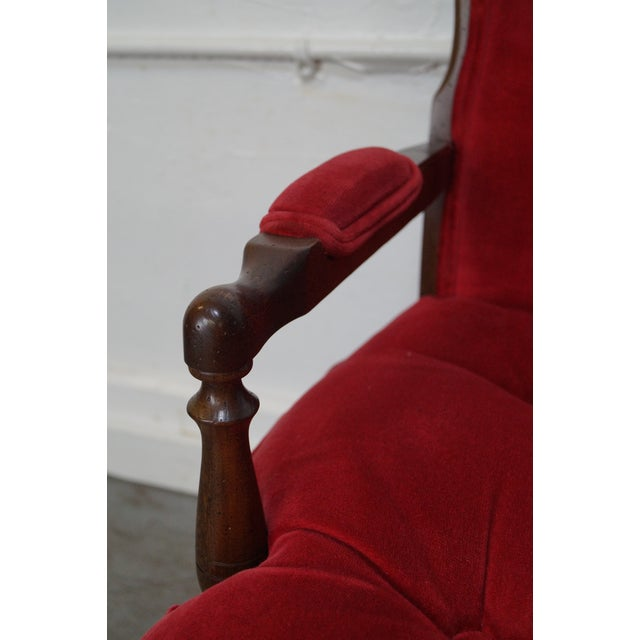 French Country Fauteuils Arm Chairs - A Pair - Image 6 of 11