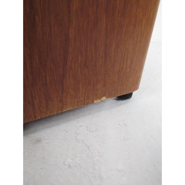 Brown Mid-Century Teak and Marble Console Table by Bendixen Design For Sale - Image 8 of 11