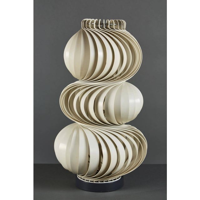 "Stunning Olaf Von Bohr ""Medusa"" Table Lamp For Sale In Los Angeles - Image 6 of 6"