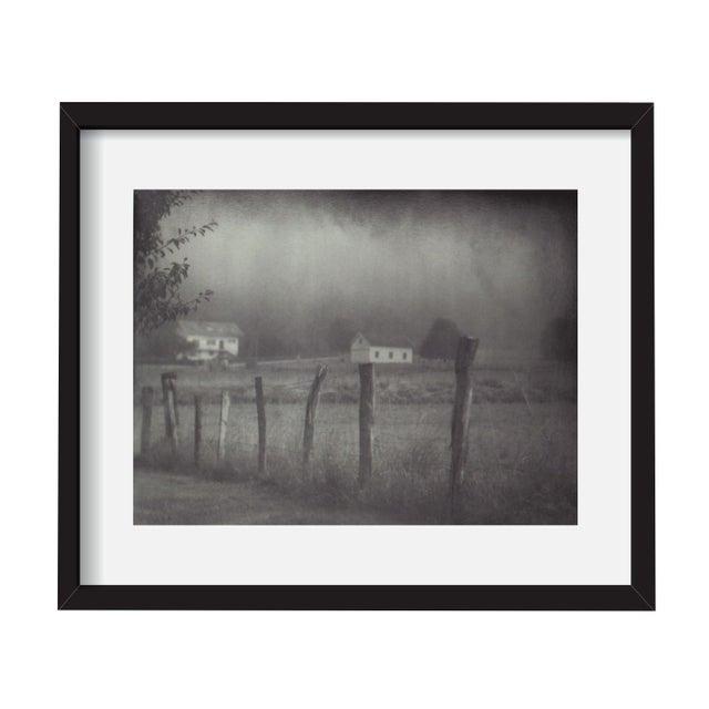 "John Nanian ""Fence and Houses"" Framed Photo Print - Image 1 of 3"
