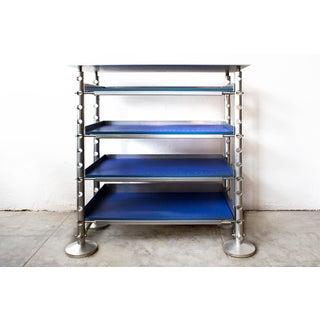 Retro Futurism Aluminium Display Shelf Preview