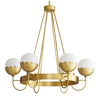 Celerie Kemble for Arteriors Cleo Chandelier For Sale
