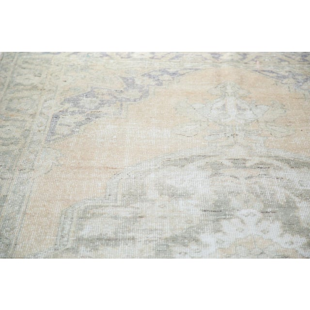 "Peach Distressed Oushak Carpet - 5'9"" x 9'6"" - Image 5 of 8"