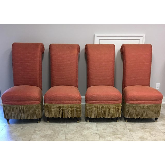 """Lillian August """"Carlyle"""" Chairs - Set of 4 For Sale - Image 10 of 10"""