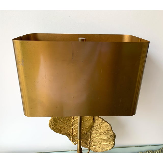 1970s Pair of Lamps Guadeloupe by Maison Charles, Bronze, 1970s, France For Sale - Image 5 of 13