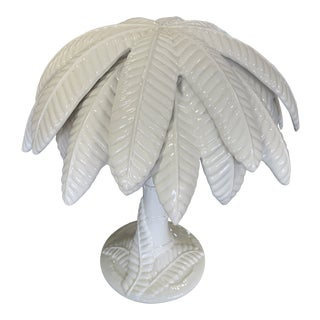 1990s Palm Tree Lamp For Sale