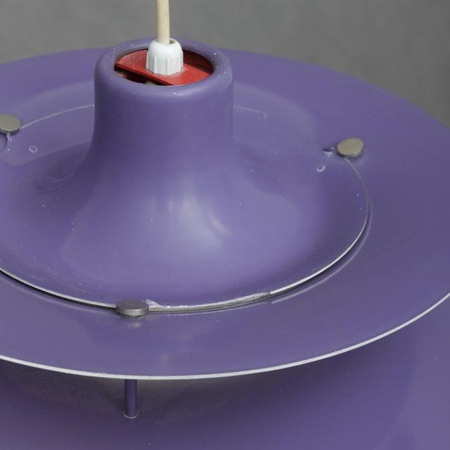 Louis Poulsen Louis Poulsen Ph5 Purple Pendant Lamp For Sale - Image 4 of 6