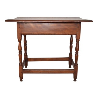 Early American Pub/Side Table For Sale