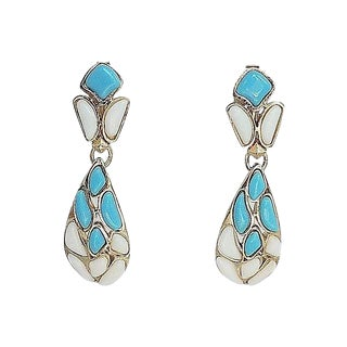 Trifari Modern Mosaics Earrings, 1966 For Sale