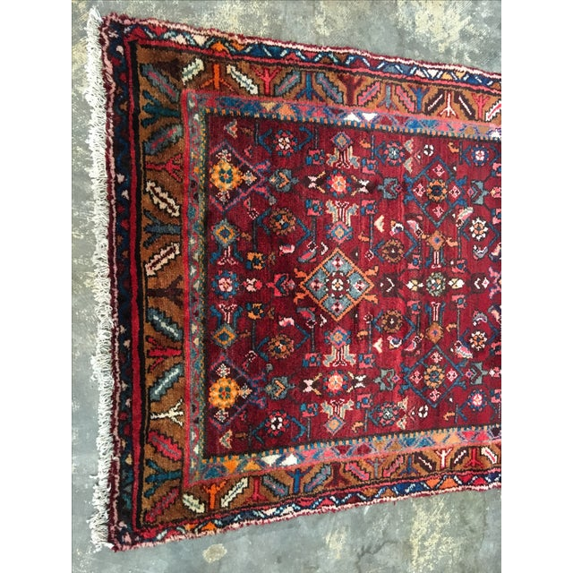 "Hosenibad Persian Runner - 3'2"" x 10'1"" - Image 3 of 8"