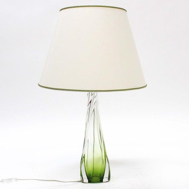 Val St Lambert Table Lamp - Image 2 of 7