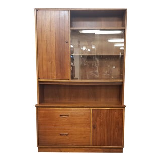 Mid Century Lane Alta Vista Cabinet Glass Doors For Sale