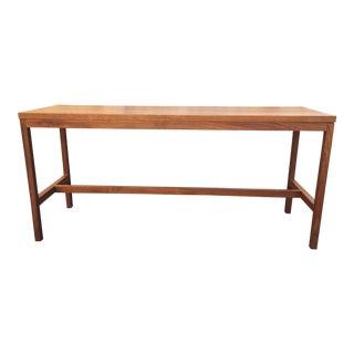 Vintage Teak Console Table