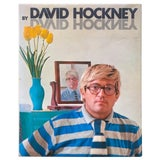 "Image of "" David Hockney by David Hockney "" Rare Vintage 1978 Collector's Iconic Hardcover Art Book For Sale"
