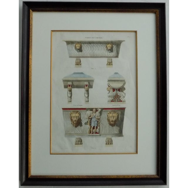 Mid 18th Century Antique Bouillion Italian Vases Print For Sale - Image 10 of 10