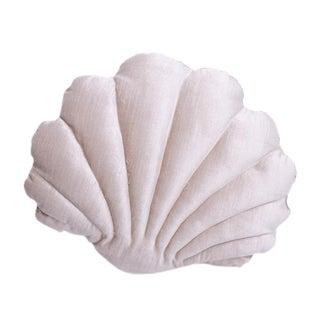 Small Shell Pillow - Blush Velvet