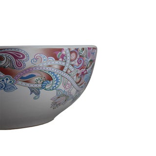 Pasargad DC Modern White Motif Sink Bowl Preview