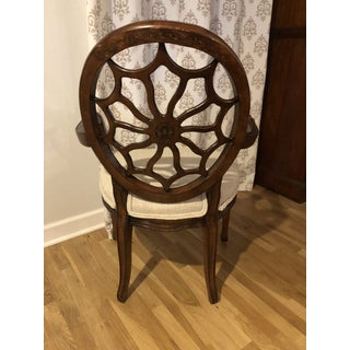 1980's Vintage Spider Back Accent Arm Chair Preview