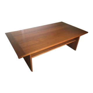 Mid-Century Danish Teak Coffee Table by Ansager Mobler For Sale