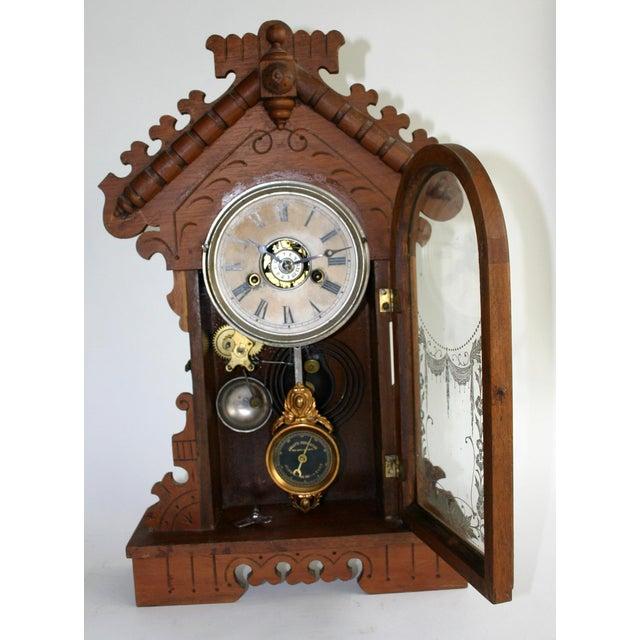 Jacot's Regulator Mantel Clock - Image 6 of 6