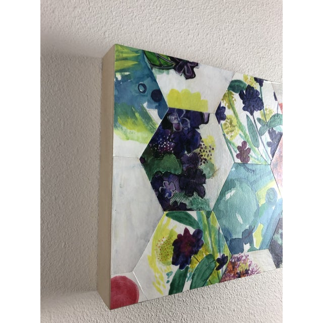"""Contemporary 2016 """"Renewal"""" Contemporary Abstract Painting For Sale - Image 3 of 8"""