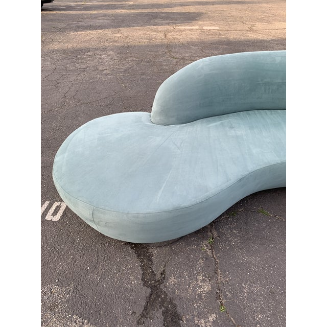 1980s Vintage Kagan Style Sofa For Sale In Los Angeles - Image 6 of 13