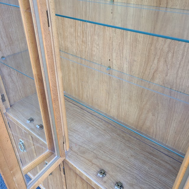 Drexel Vintage Drexel 1pc Breakfront China Cabinet For Sale - Image 4 of 13