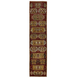 Vintage Oushak Rug with Modern Traditional Style