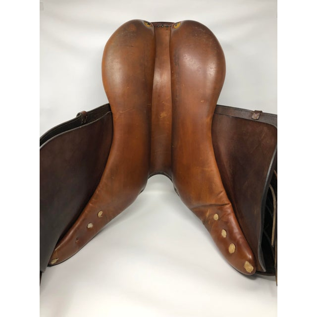 0af54d478f66 Vintage Hermes Close Contact English Saddle For Sale In Seattle - Image 6  of 9