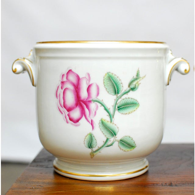 Richard Ginori Italian Cache Pots - A Pair - Image 3 of 5