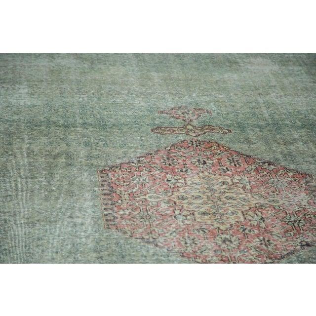 "Distressed Oushak Carpet - 8'6"" X 11'6"" - Image 5 of 10"