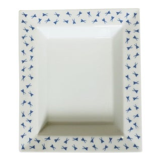 Blue and White Meissen Dish For Sale