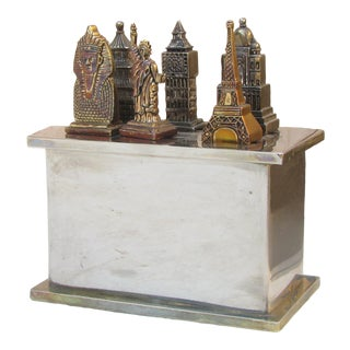 Architectural Monument Spreaders, Set of 6 W/ Stand For Sale