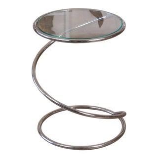 Ps-12 Spiral Side Table by Brueton For Sale