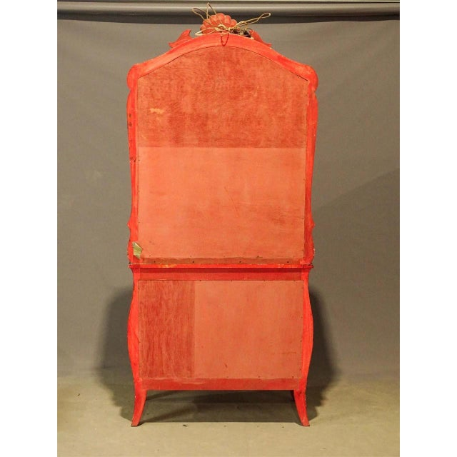 Chinoiserie Irwin & Lane James Reynolds Chinoiserie Display Case on Commode For Sale - Image 3 of 13