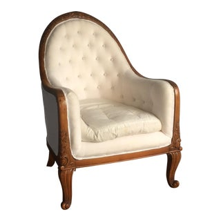 Antique Art Deco Bergère Chair