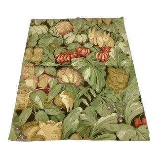 Mid-Century Animal Botanic Print Sewing Fabric For Sale