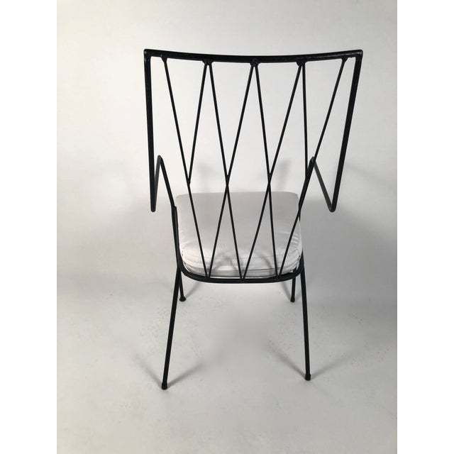 Black Paul McCobb Pavilion Collection Table and 4 Chairs For Sale - Image 8 of 12