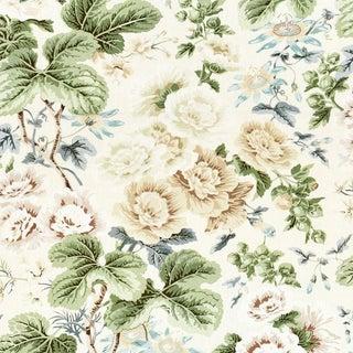 Scalamandre Highgrove Linen Print Fabric For Sale