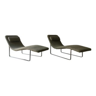 Landscape Chaise Longues by B & B Italia - a Pair For Sale